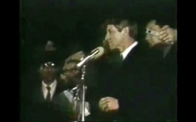 Robert F. Kennedy's Speech Announcing the Death of Martin Luther King (YouTube)